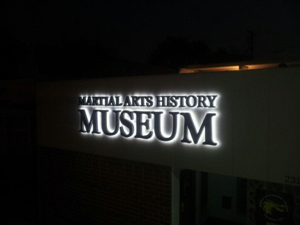 Back-Lit Channel Letter Sign Sample
