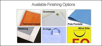 Banner Finishing Options