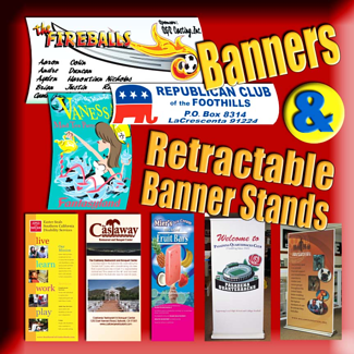 Custom banners for Burbank CA