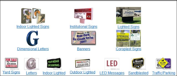 Business Advertising Sample Signs resized 600