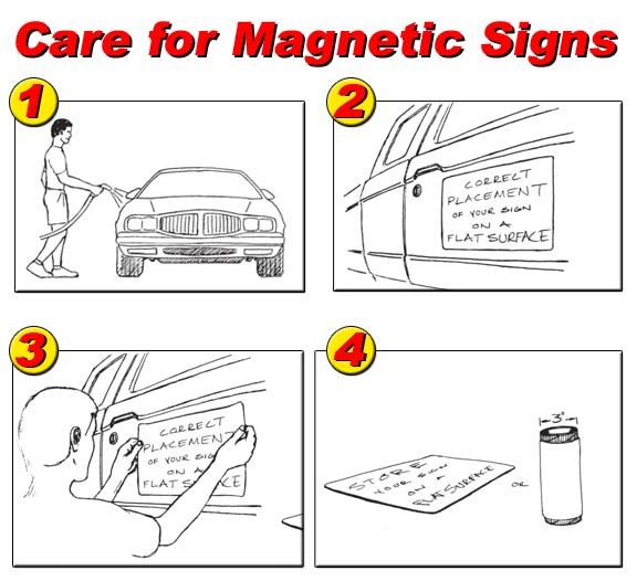 Magnetic Sign Advertising