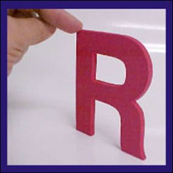 Acrylic Plexafoam Letters