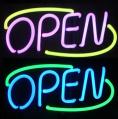 Neon Sign Open