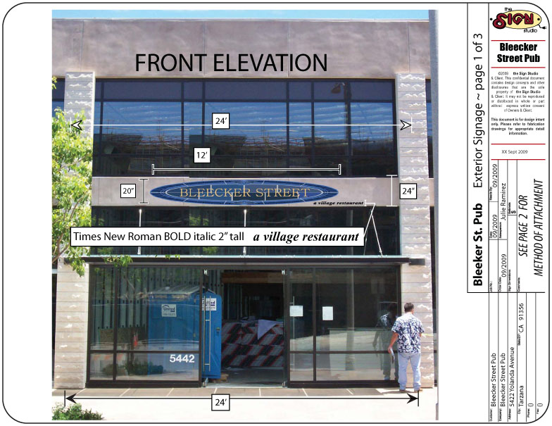 Sample Elevation 1