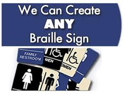 ADA Braille Signs Los Angeles