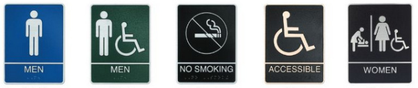 ADA Compliant Signage for Los Angeles Businesses