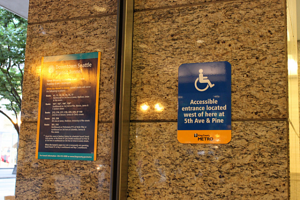 Should ADA Signs be Hung on Doors in LA