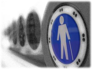Where should ADA Signs be Hung in Los Angeles