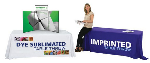 Trade Show Table Throws and Runners