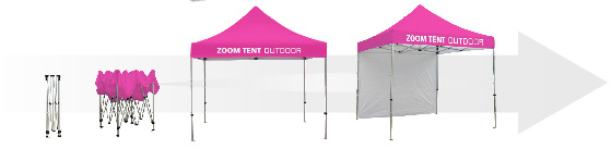 Trade Show Pop Up Tents Los Angeles