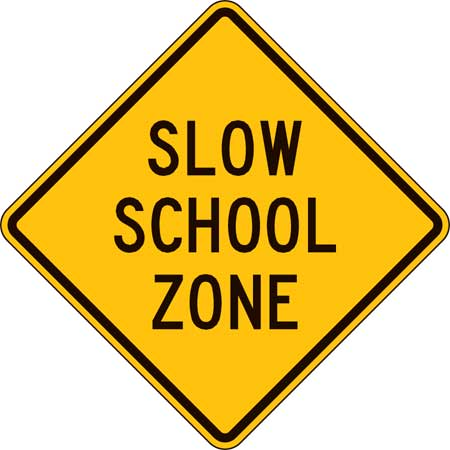 School Zone Safety Signs Burbank CA