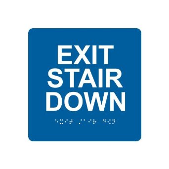 ADA Stairwell signs Los Angles