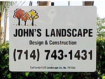 Contractor Yard Signs Burbank CA