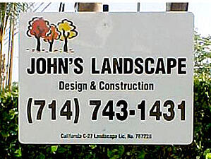 Contractor Yard Signs Burbank CA