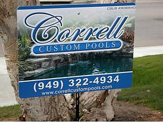 Contractor yard signs campaigns for Burbank CA