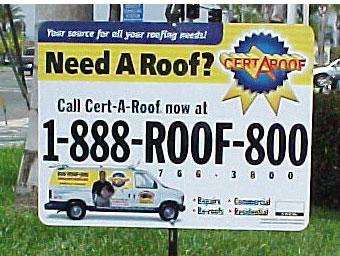 Contractor Lawn Signs Burbank CA