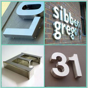 Sign Letters Sizes for Los Angeles
