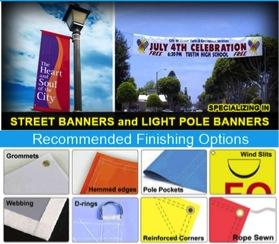 Digitally printed banners Los Angeles