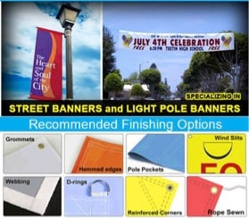 Digitally printed banners Los Angeles