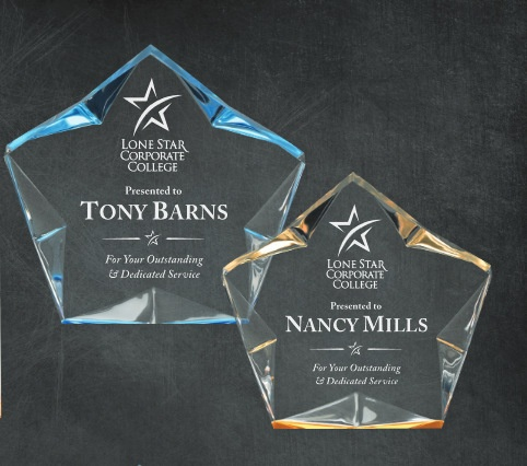 Laser Engraved Corporate Achievement Awards Los Angles