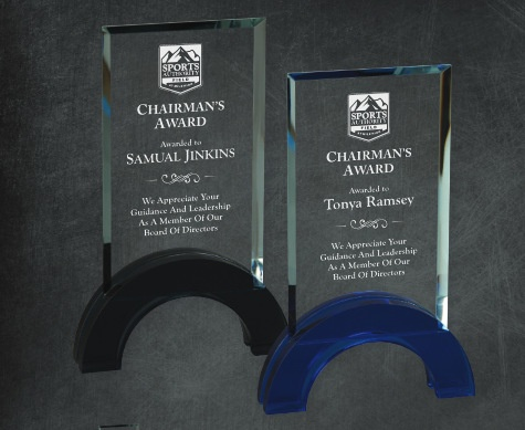 Corporate awards laser engraved Los Angeles
