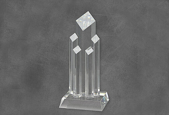 Acrylic and Glass Trophy Awards in Los Angeles