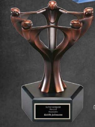Unique Trophy Awards in Los Angeles for Teams