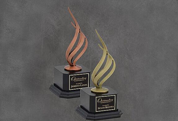 Buy laser engraved trophies online! Shipped Nationwide!