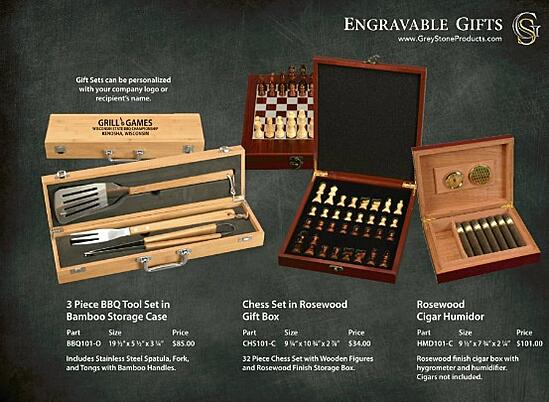 Laser Engraved Gift Sets Shipped Nationwide!