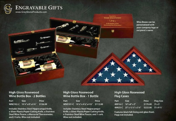 Buy laser engraved gift sets online! Shipped Nationwide!