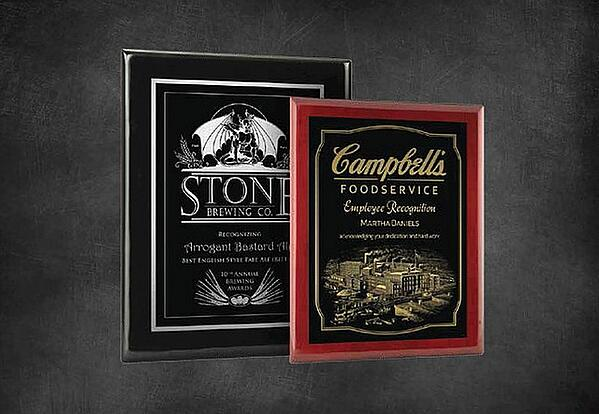 The many uses of Laser Engraved Plaques