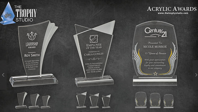 Engraved Salesperson Awards Los Angeles