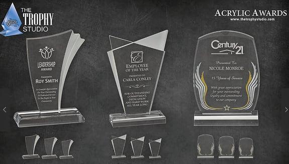 Engraved Salesperson Awards Los Angeles