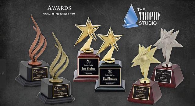 Laser Engraved Awards for Top Salespersons in Los Angeles