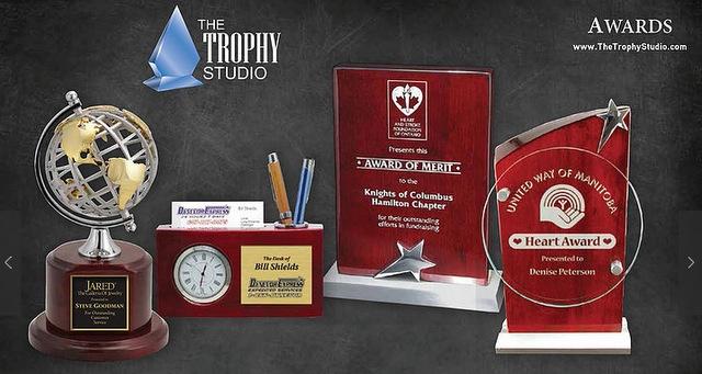 Buy engraved salesperson awards online