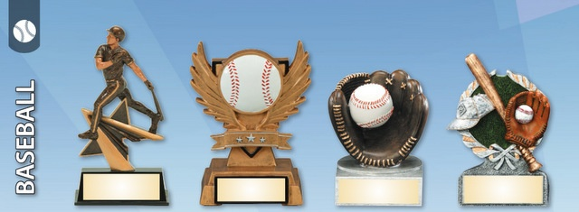 Laser Engraved Baseball Trophies and Awards Nationwide
