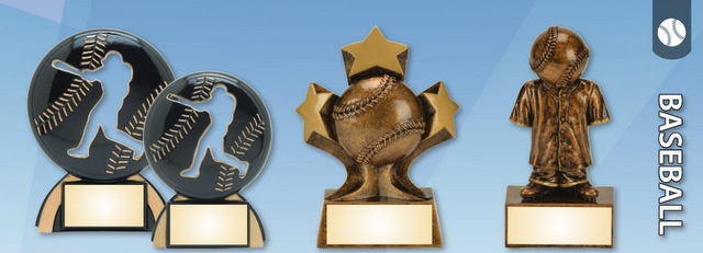 Engraved Baseball Trophies and Awards Los Angeles