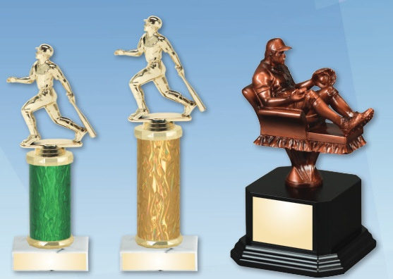 Laser Engraved Baseball Trophies Nationwide