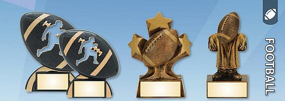 Fantasy Football Trophies Laser Engraved Nationwide