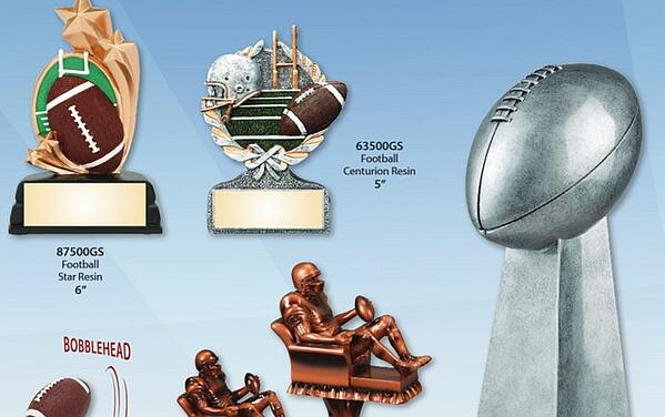 Fantasy Football Trophies and Awards | Los Angeles | Nationwide