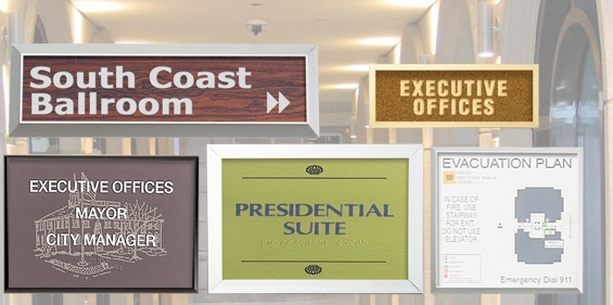 Laser Engraved Wall Plaques Los Angeles
