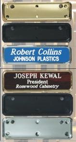 Laser Engraved Name Badge Frames Los Angeles