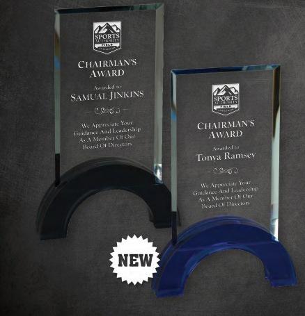 Crystal Laser Engraved Employee Awards Los Angeles