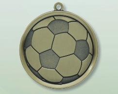 Laser Engraved Soccer Medals in Los Angeles
