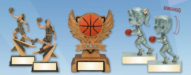 Sports Trophies in Los Angeles Laser Engraved