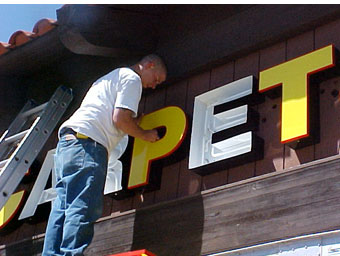 Sign Installation for Los Angeles